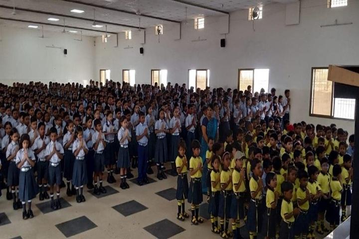 Hasdeo Public School-Prayer-Assembly