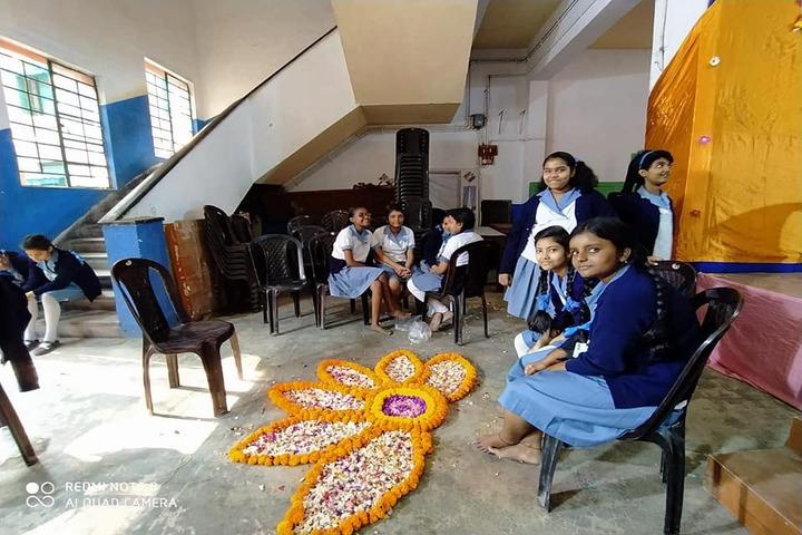 Beltala Girls High School-Festival Celebrations