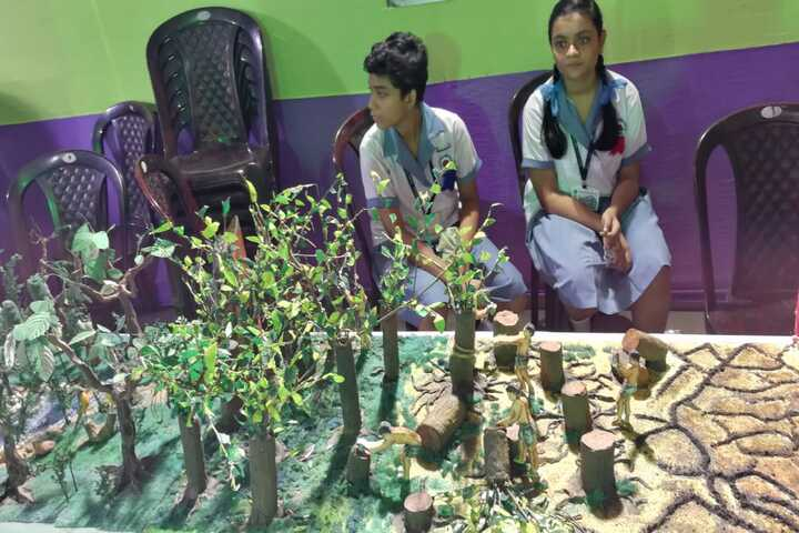 Beltala Girls High School-School Exhibition