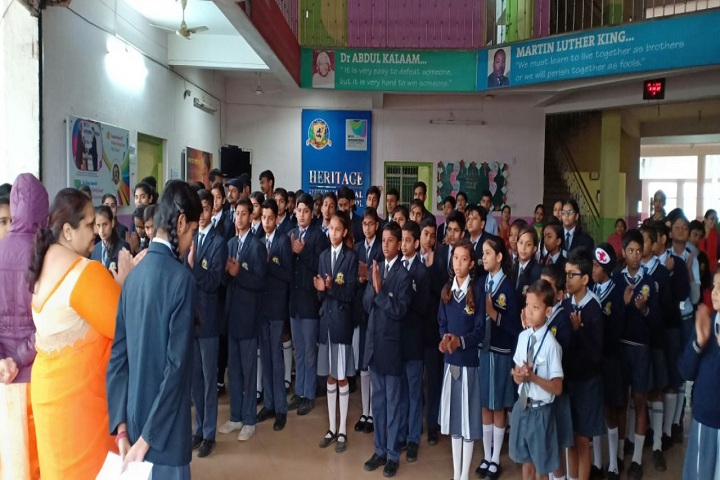 Heritage International Public School-Assembly