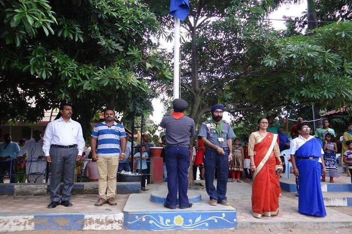 Holy Cross Convent Senior Secondary School-Flag Hosting