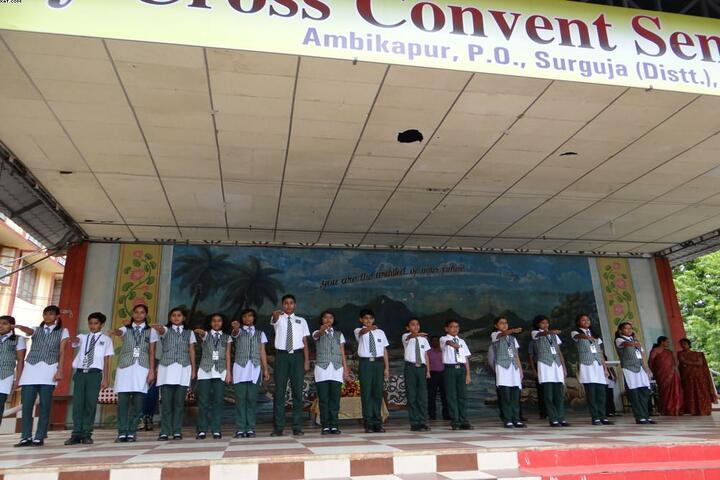 Holy Cross Convent Senior Secondary School-Pledge
