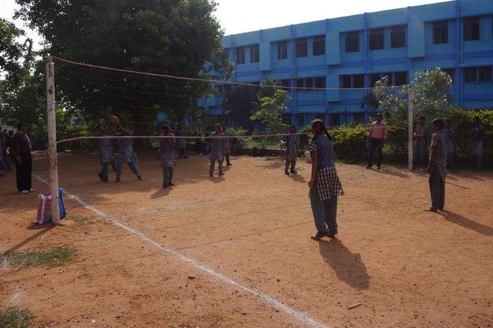 Kendriya Vidyalaya-Volley Ball Court