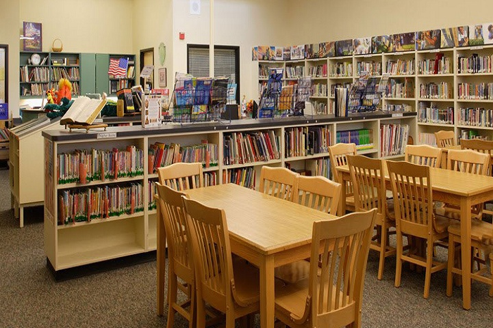 Holy Hearts Education Academy-Library