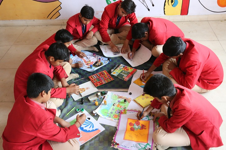 Indian School-Painting