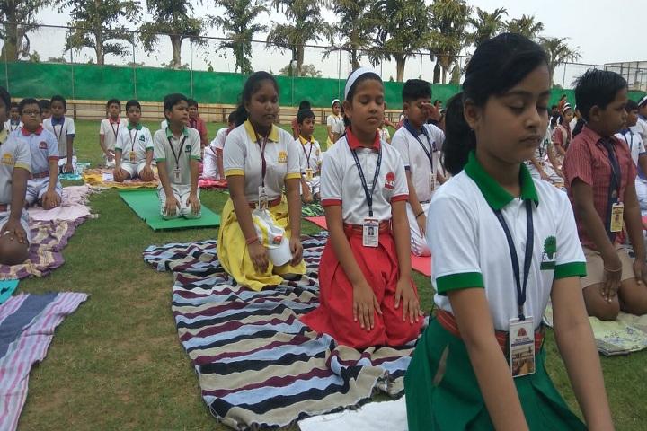 Indian School-Yoga-Day