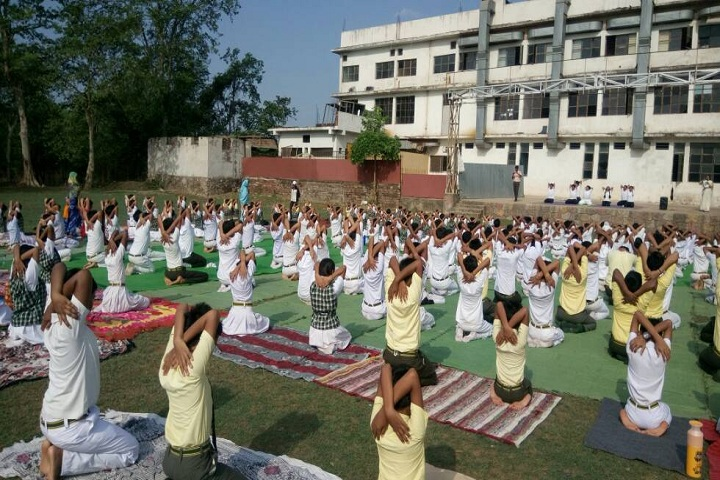 Indu I T School-Yoga-Day