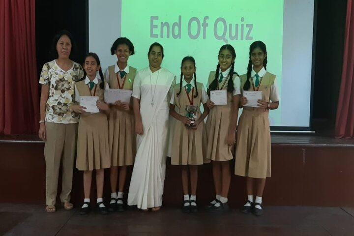 Convent of Jesus and Mary High School-Science Quiz