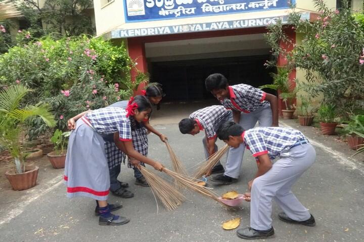 Kendriya Vidyalaya-Swach Bharat Event