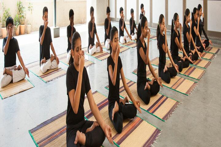 Agarwal Vidyalaya and Junior College-Yoga Activity