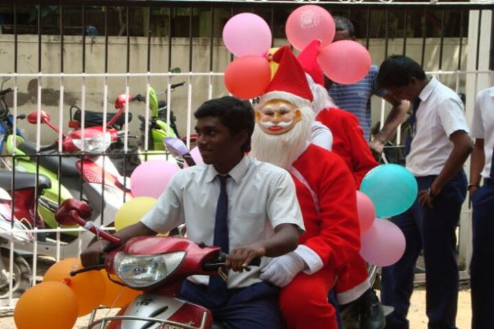 Annai Velankanni Matriculation Higher Secondary School-Christmas