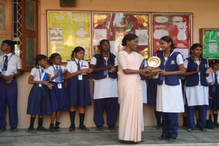 Annai Velankanni Matriculation Higher Secondary School-Prize Distribution