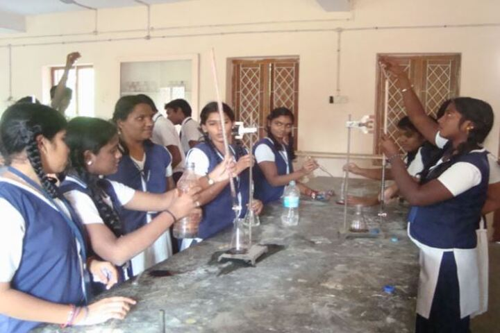 Annai Velankanni Matriculation Higher Secondary School-Science Lab