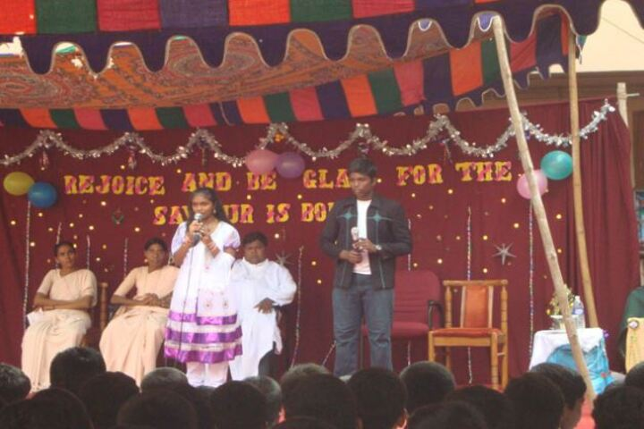 Annai Velankanni Matriculation Higher Secondary School-Singing