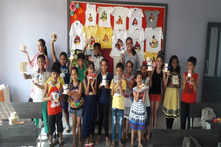 JP International School-Arts-Craft