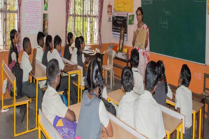 Vivekananda Vidyalaya-Classroom