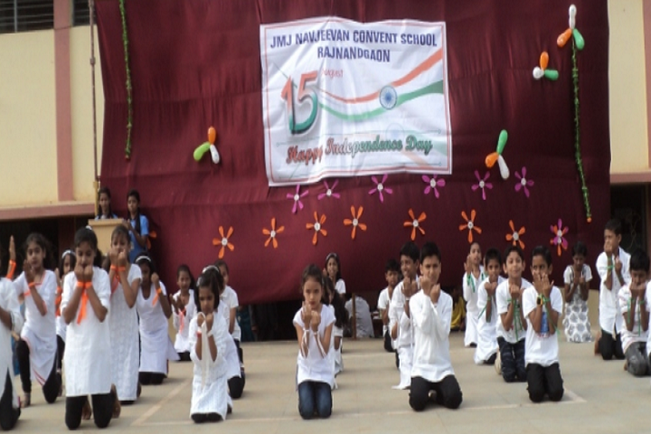 J M J Navjeevan Convent School-Independence-Day