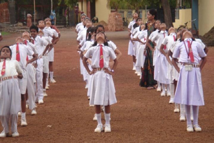 J M J Navjeevan Convent School-Yoga-Day