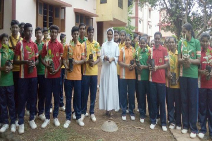 Jai Krista Convent High School-Students