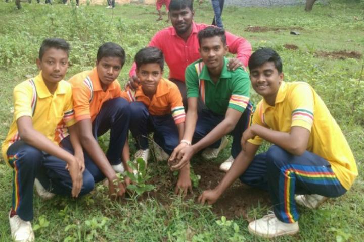 Jai Krista Convent High School-Tree-Plantation