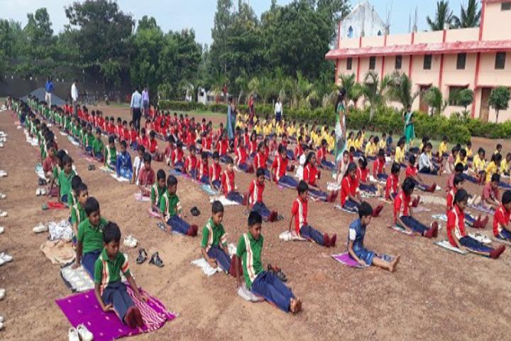 Jai Krista Convent High School-Yoga-Day