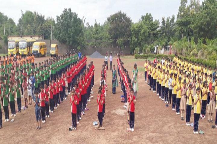 Jai Krista Convent High School-Yoga-Day1