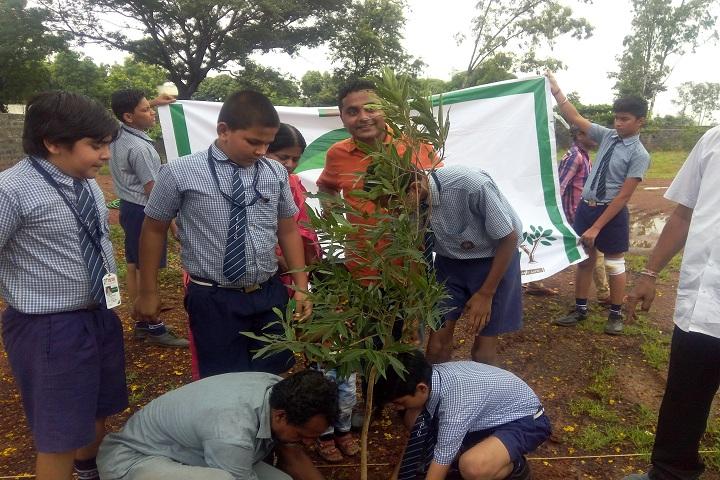Jain Public School-Tree-Plantation