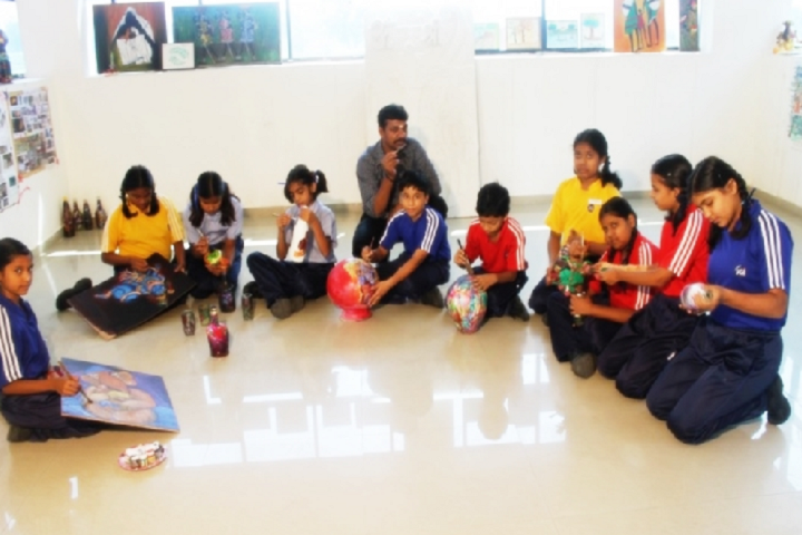 Jain Public School Korba-Arts-Crafts
