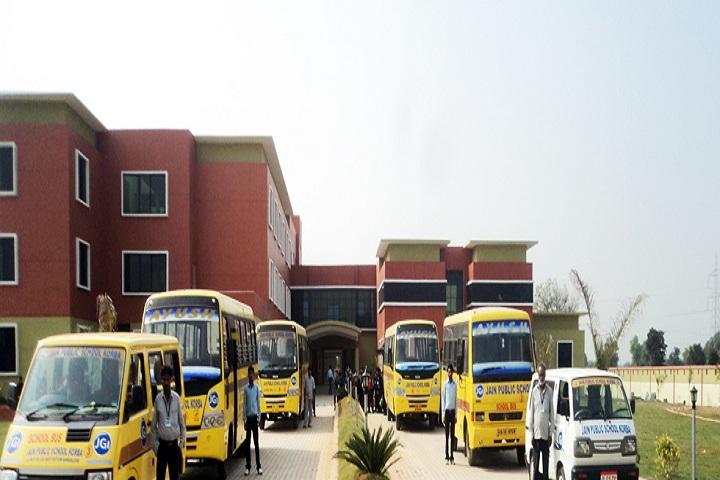 Jain Public School Korba-Transport