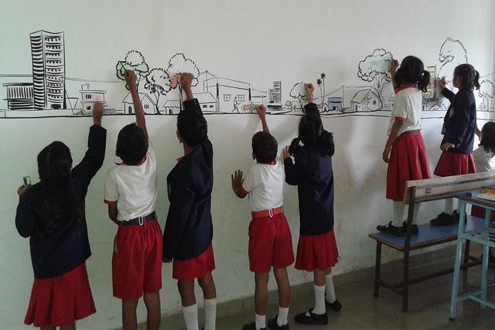 Janmitram SPS Memorial School-Art