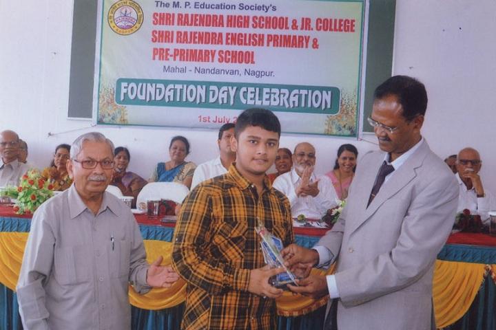 Shri Rajendra High School and Junior College-Foundation Day Celebration