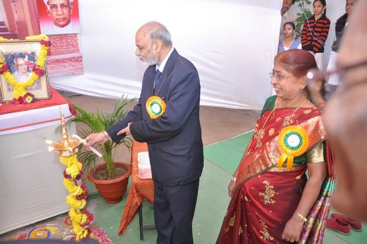 Shri Rajendra High School and Junior College-Lighting The Lamp
