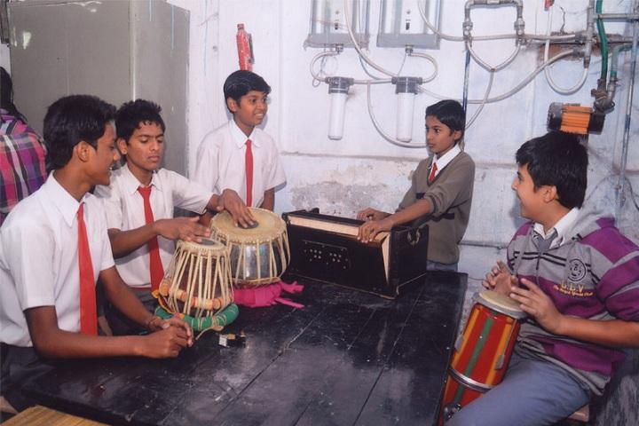 Shri Rajendra High School and Junior College-Music Classes