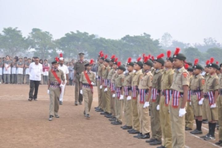 KK Wagh Vidyabjavan and Junior College-Repulic Day Celebration NCC