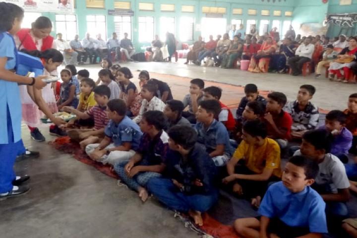Jawahar Navodaya Vidyalaya students