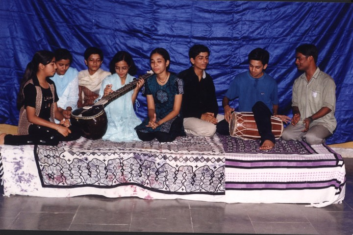 Arera Convent Higher Secondary Residential School-Music