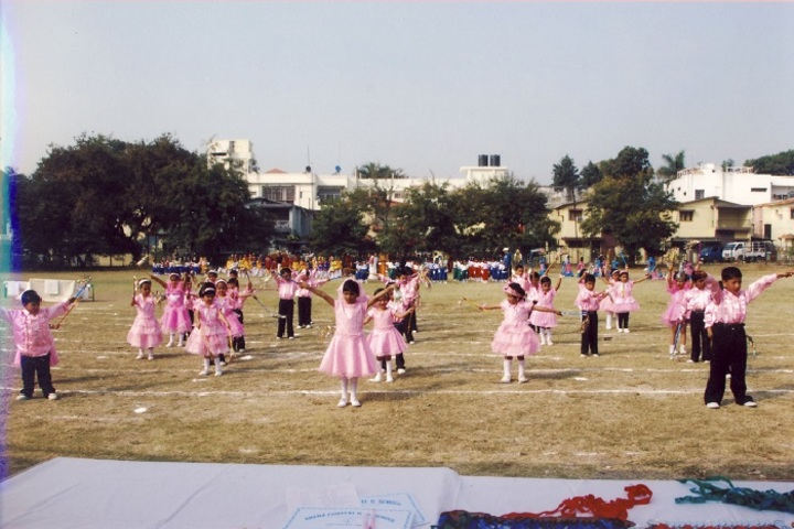 Arera Convent Higher Secondary Residential School-Pink Day