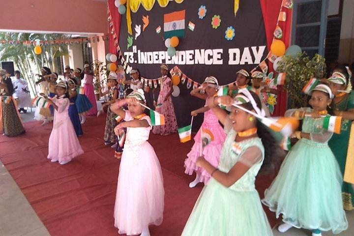 John Britto Matric Higher Secondary School-Independence day