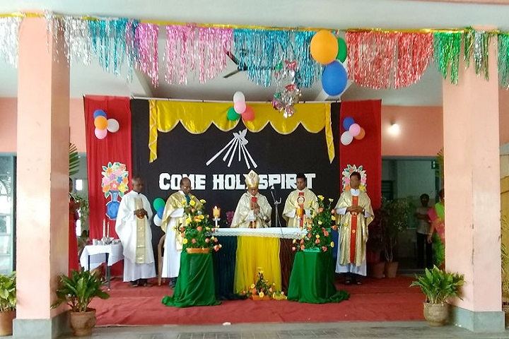 John Britto Matric Higher Secondary School-New Year celebrations