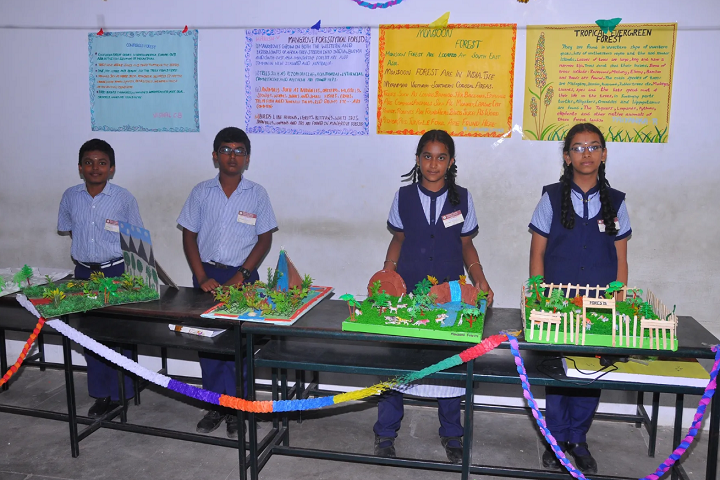 Vivekananda Vidyalaya Matric Higher Secondary School-Science Exhibition