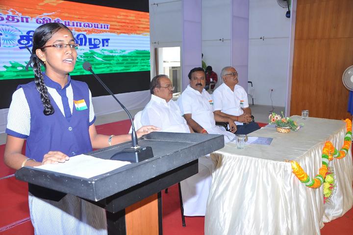 Vivekananda Vidyalaya Matric Higher Secondary School-Student