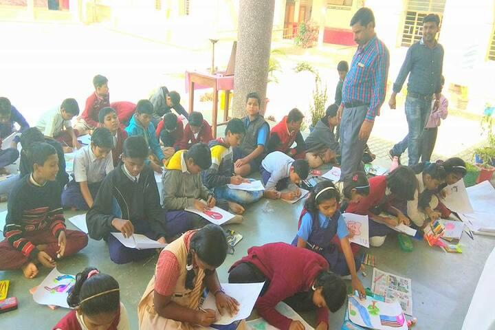 Jawahar Navodaya Vidyalaya-Drawing Class