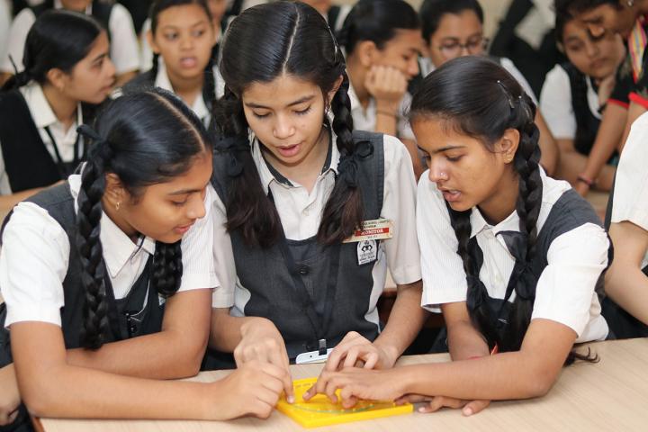 Sir V D T Girls High School-Maths Lab