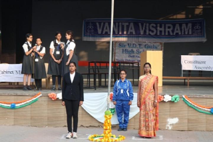 Sir V D T Girls High School-Republic Day