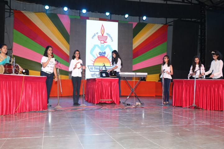 Sir V D T Girls High School-Singing