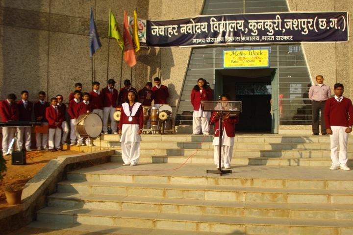 Jawahar Navodaya Vidyalaya Jashpur-prayer