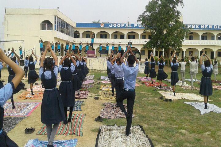 Jogpal Public School-Yoga