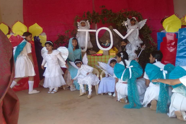 Jyoti Higher Secondary-Christmas day celebrations