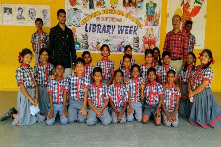 Kendriya Vidyalaya -  National Library Week