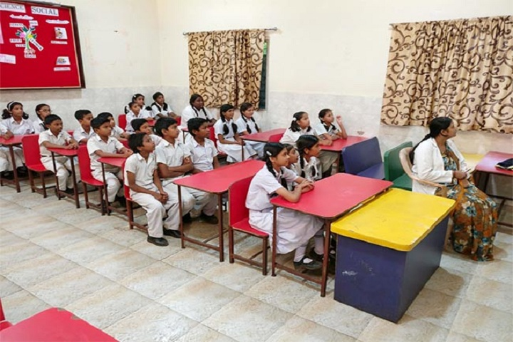 K H Memorial School-classroom